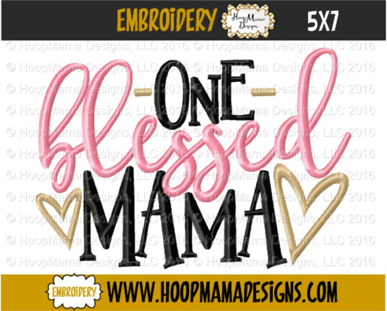 Download Blessed Mama Svg,Dxf,Png,Pes,Ai Files DXF