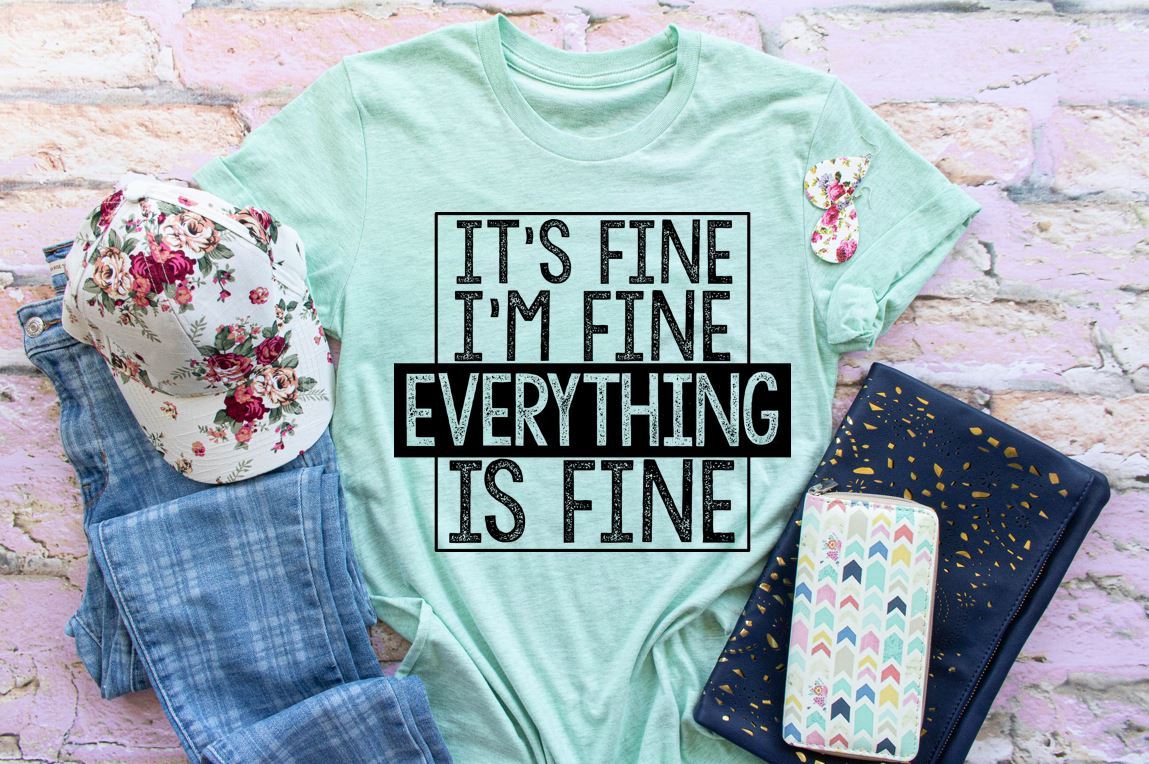 fine im its screen transfer print everything adult everythings hoopmama e12